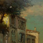 """Travail terminé : """"Paysage vénitien"""" Copie de Bouvard."""