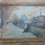 Peinture sur carton