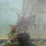Etape d 'un nettoyage d'une Marine