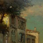 Travail terminé : Paysage vénitien Copie de Bouvard.