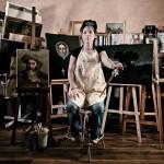 Photo artistique prise dans l'atelier.