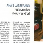 Nouvel article.