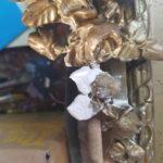 Restauration de deux cadres de miroirs